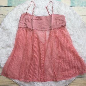victoria secret Baby Doll pink size L